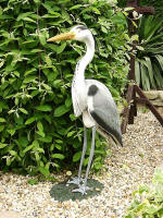 Grey Heron on Base - DEC-GREHE-01